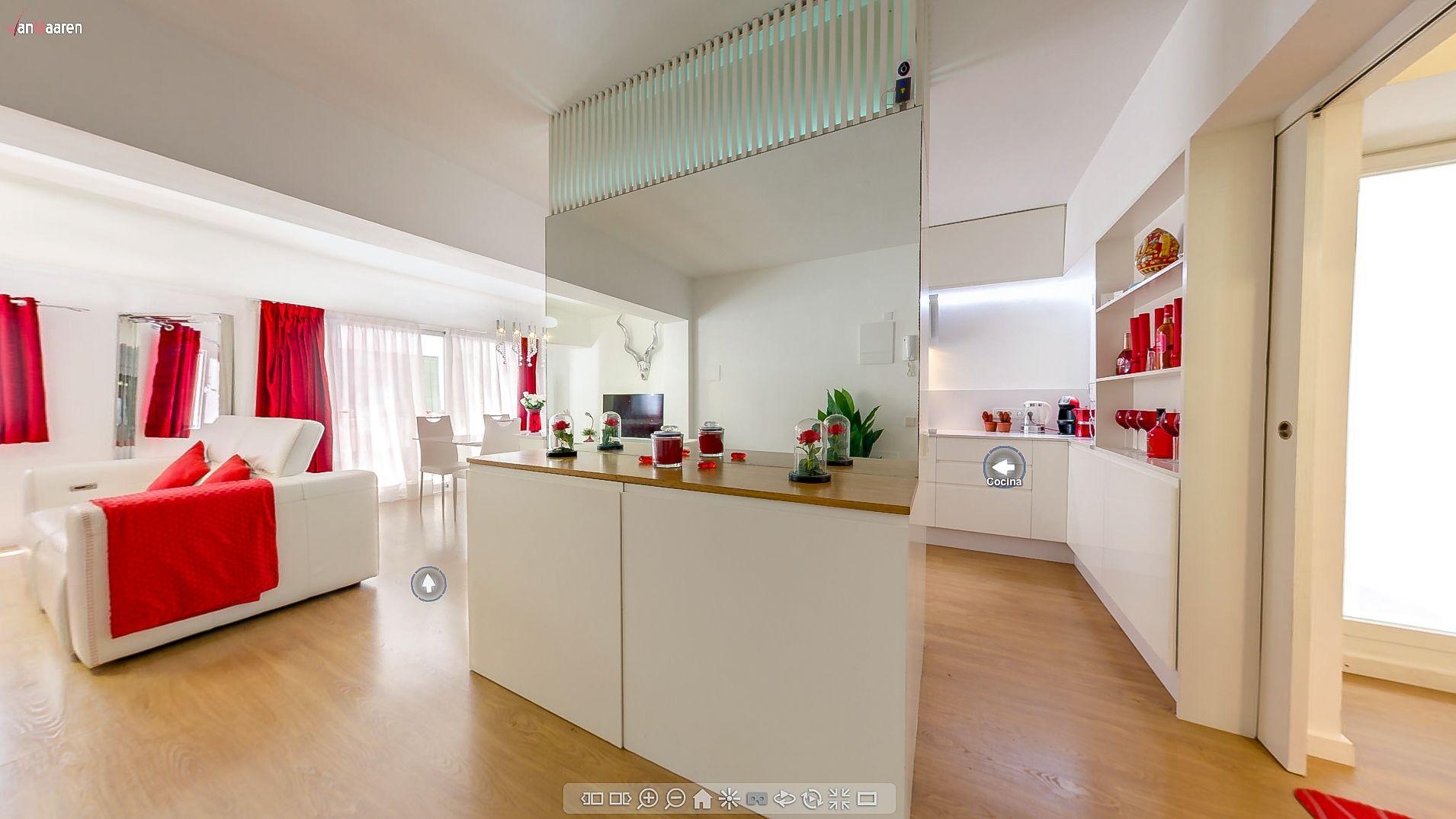 Visita virtual casa inmobiliaria